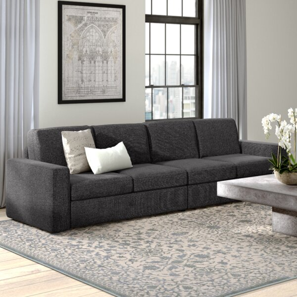 Get Valuable Gosnell Modular Sofa by Greyleigh by Greyleigh