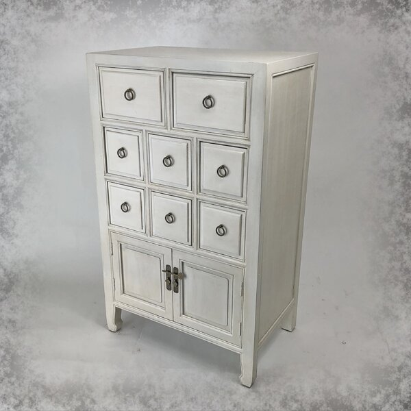 Rushmore 8 Drawer Apothecary Accent Chest