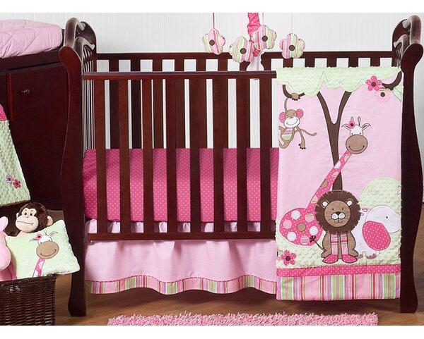 Jungle Friends 11 Piece Crib Bedding Set by Sweet Jojo Designs
