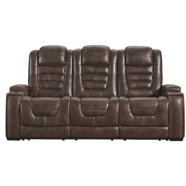 Beautiful Clove Reclining Sofa by Latitude Run by Latitude Run