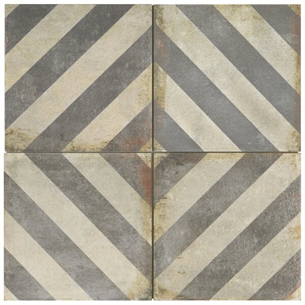 Relic Décor 8.75 x 8.75 Porcelain Field Tile in Obliqua by EliteTile