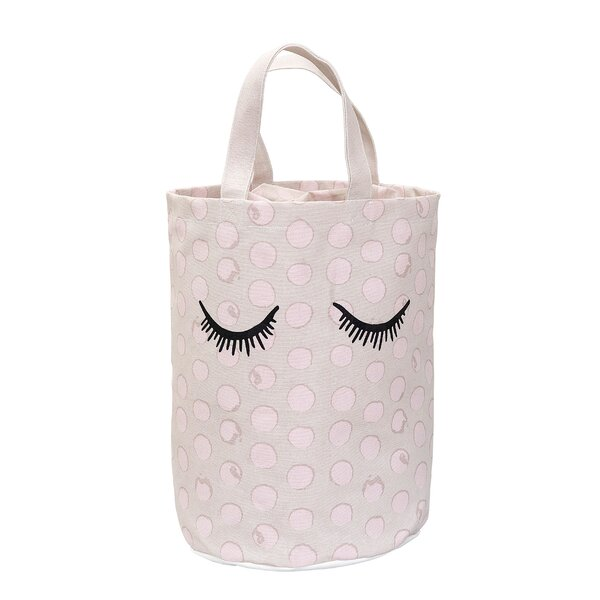 Maddisyn Dot Laundry Bag by Harriet Bee