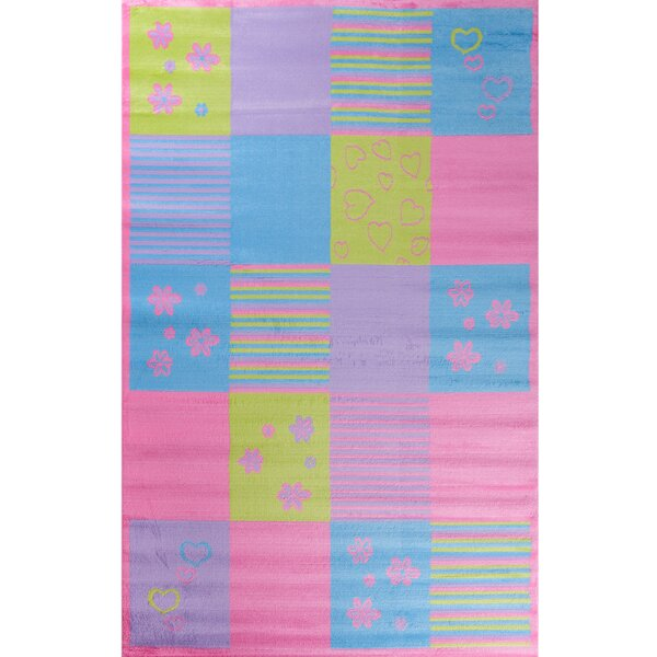 Ball Ground Alisa Patchwork Kids Area Rug by Zoomie Kids
