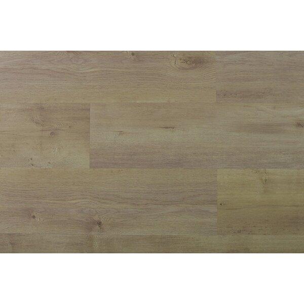 Akelah Ibunda 7 x 48 x 8.5mm WPC Luxury Vinyl Plank in Beige/Tan by Adaptafloor