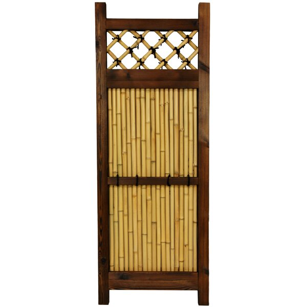 4 ft. H x 1.5 ft. W Japanese Zen Garden Fence Panel by Oriental Furniture