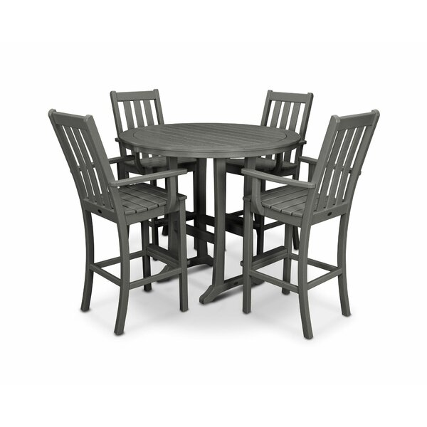 Vineyard 5 Piece Bar Height Dining Set by POLYWOOD®