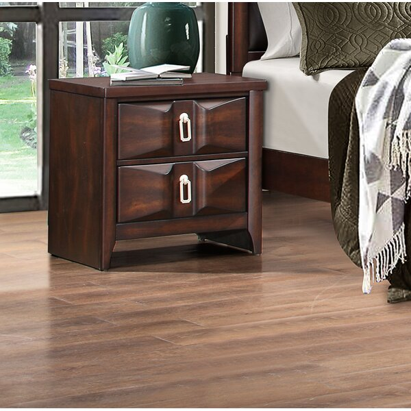 Redbrook 2 Drawer Nightstand by World Menagerie