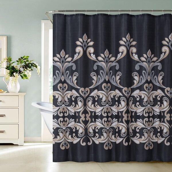 Bayshore Shower Curtain by World Menagerie