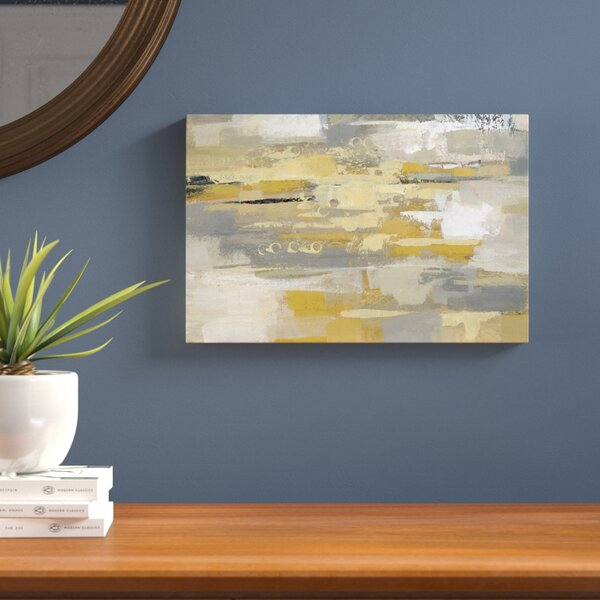 Urban Walkway Painting Print on Wrapped Canvas by Langley Street