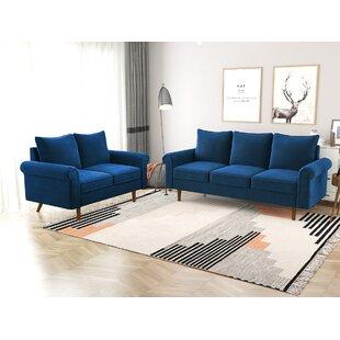 Swish 2 Piece Configurable Living Room Set by Winston Porter