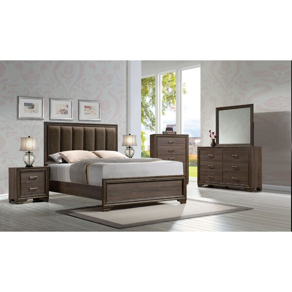 Bowne Upholstered Panel Configurable Bedroom Set by Ivy Bronx