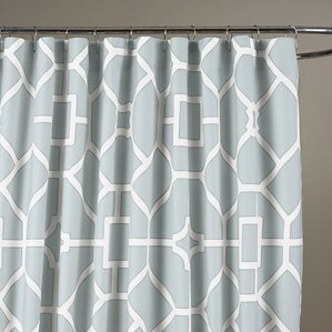 gray and teal shower curtain. Sandra Shower Curtain Curtains  Joss Main