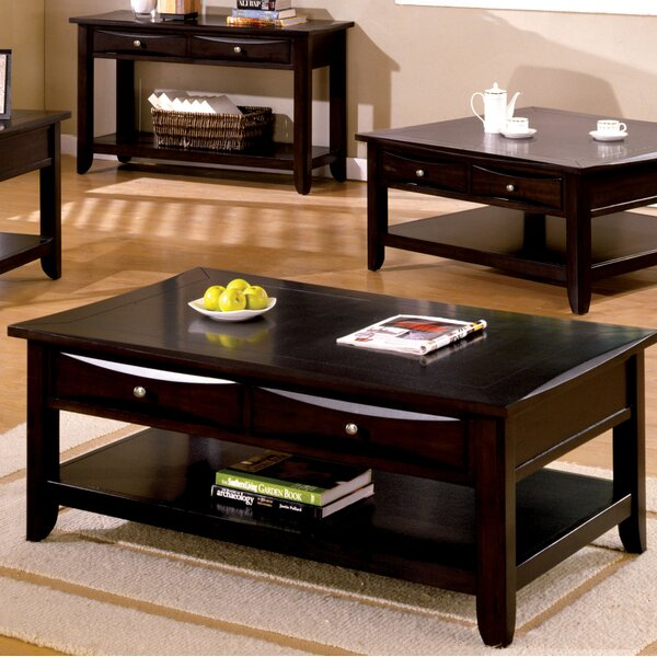 Geomar 2 Piece Coffee Table Set By Latitude Run