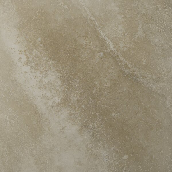 Tuscany Ivory 24 x 24 Travertine Field Tile in Honed Beige by MSI