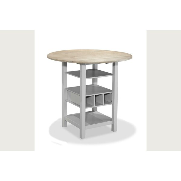 Rosaline Counter Drop Leaf Dining Table by August Grove
