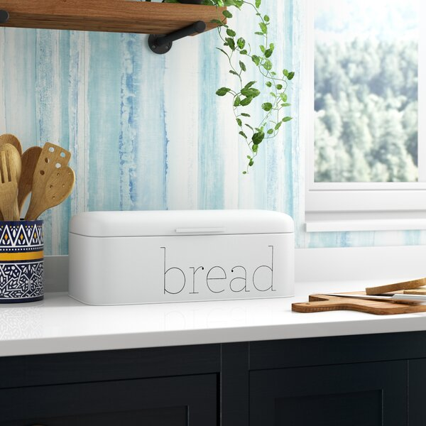 Branch Metal Bread Box by Mint Pantry