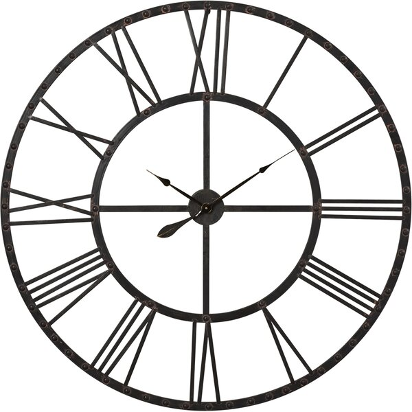 upton round oversized wall clock  u0026 reviews