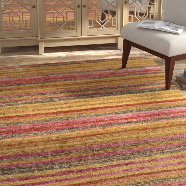 Rekha Hand-Woven Area Rug by Bungalow Rose