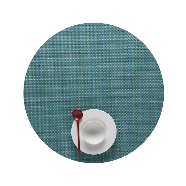 Mini Basketweave Round Placemat by Chilewich