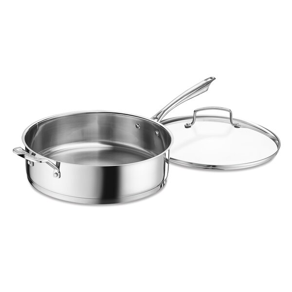6 Qt Saute Pan with Lid by Cuisinart