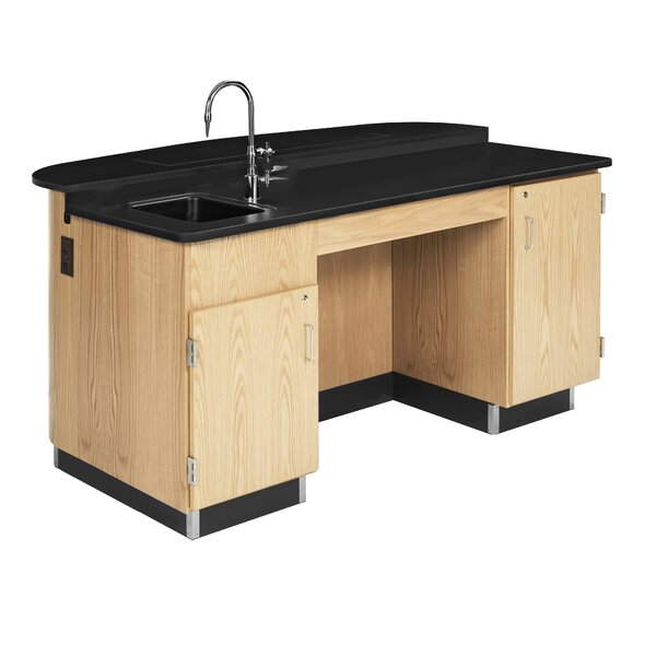 Versacurve Resin 36 Student Workstation by Diversified Woodcrafts