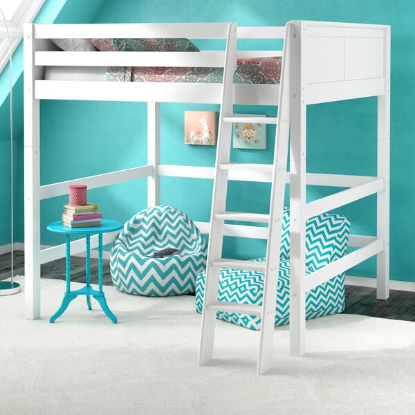 Caitlynn Full Loft Bed by Viv + Rae