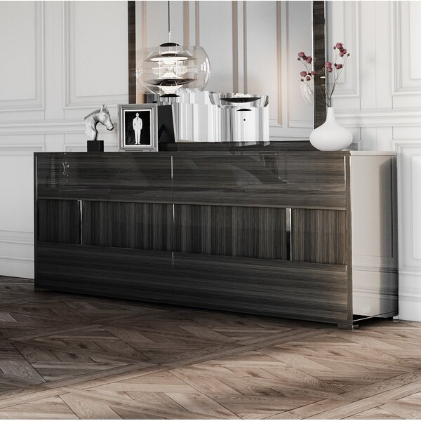 Marisol 6 Drawer Double Dresser by Mercer41