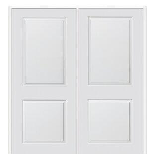 Carrara Primed Double Mdf Panelled Prehung Interior Door