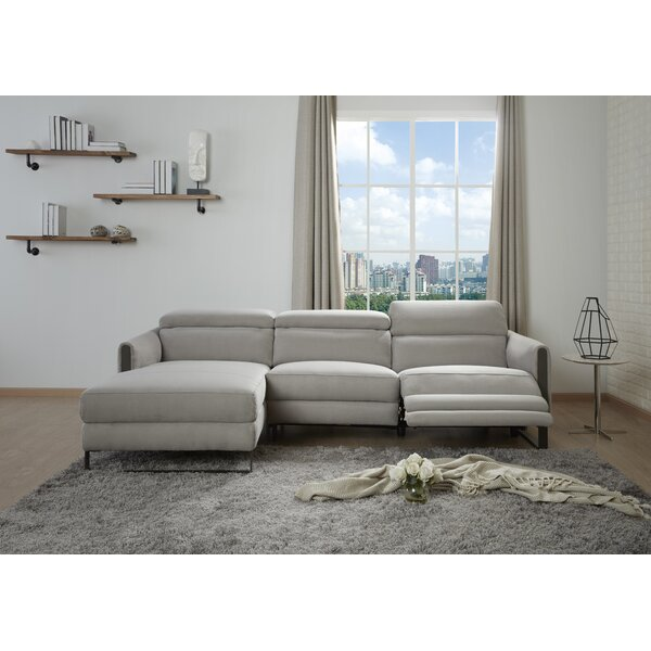 Spinella Reclining Sectional by Brayden Studio