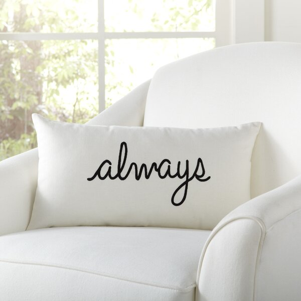 Always Pillow Cover by Birch Lane™