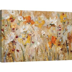 Jostle Painting Print on Wrapped Canvas by Great Big Canvas