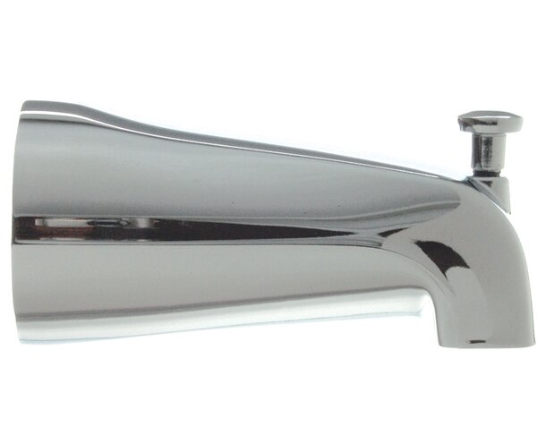 0.5 Slip Connection Adjustable Tub Spout with Diverter by Danco