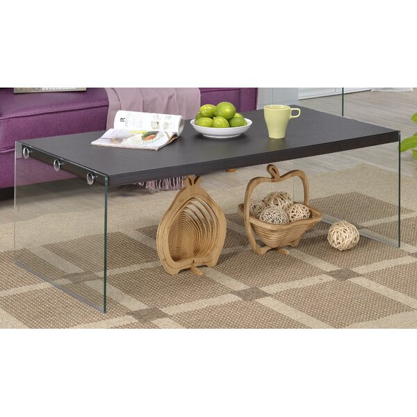 Fox Hill Trading Glass Top Coffee Tables