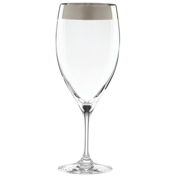 Timeless Platinum Signature 12 oz. All Purpose Iced Beverage Glass by Lenox