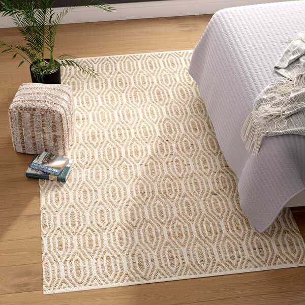 Gilchrist Hand-Woven Natural Area Rug by Beachcrest Home