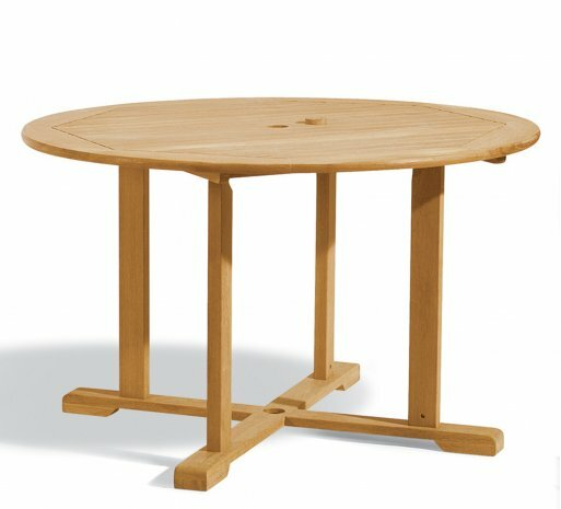 Harpersfield Round Dining Table by Beachcrest Home