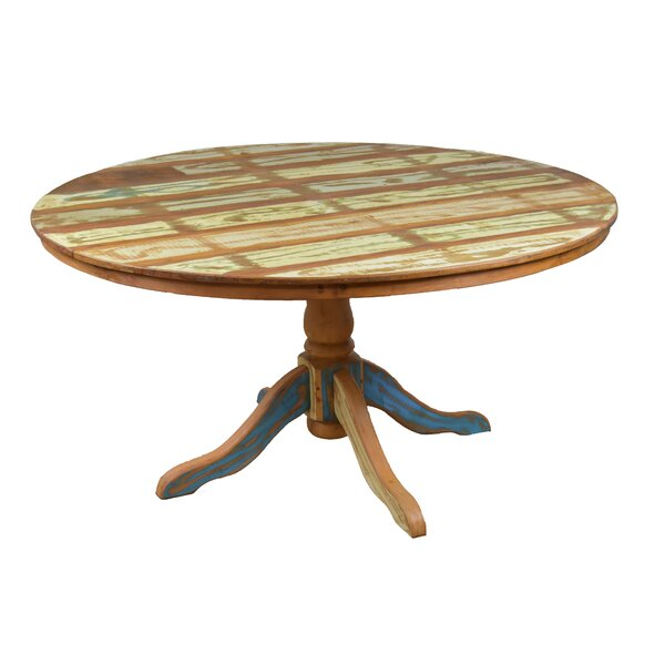 Goulart Solid Wood Dining Table by Bloomsbury Market
