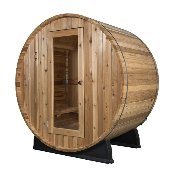 Watoga 4 Person Traditional Steam Sauna by Almost Heaven Saunas LLC