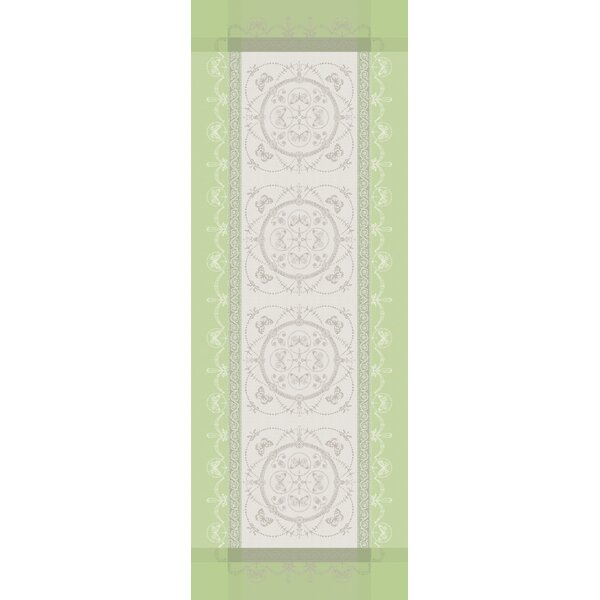 Eugenie Table Runner by Garnier-Thiebaut Inc