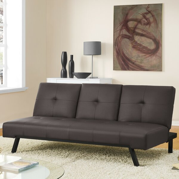 Hakon Cupholder Convertible Sofa by Latitude Run