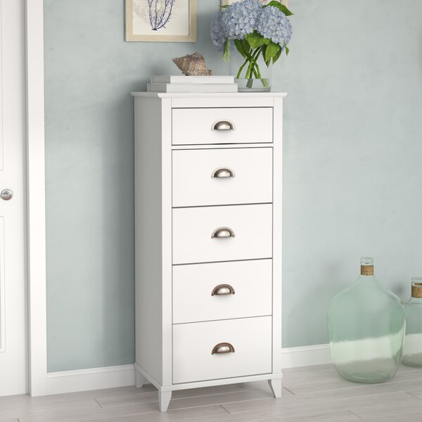 Sanmiguel 5 Drawer Chest by Beachcrest Home