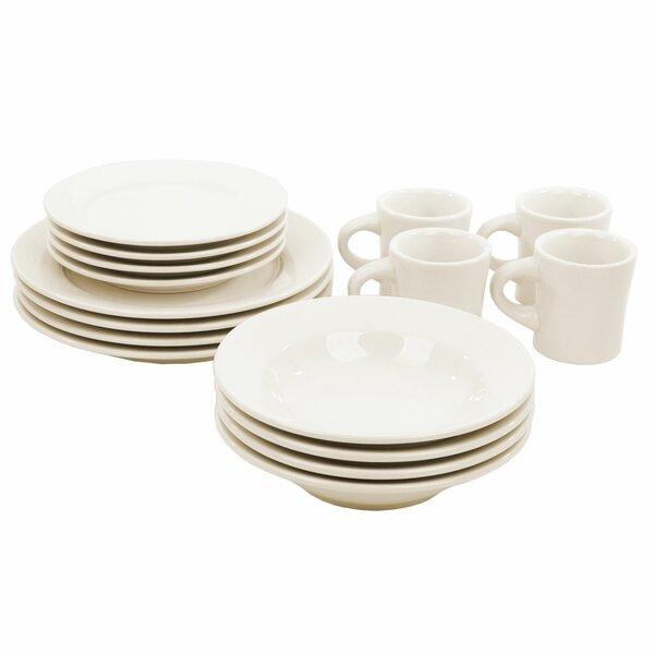 Buffalo 16 Piece Dinnerware Set, Service For 4 by Oneida