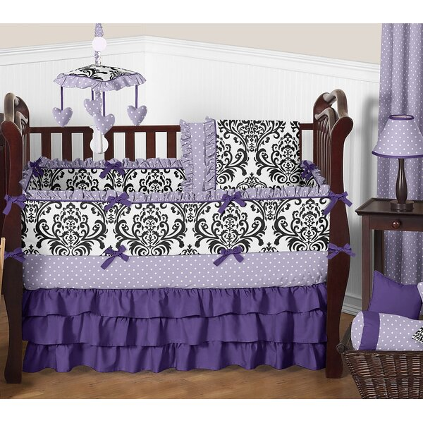 Sloane 9 Piece Crib Bedding Set by Sweet Jojo Desi