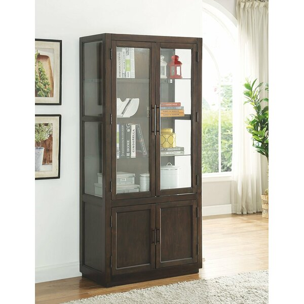 Chaunce Wooden Curio Cabinet by Gracie Oaks
