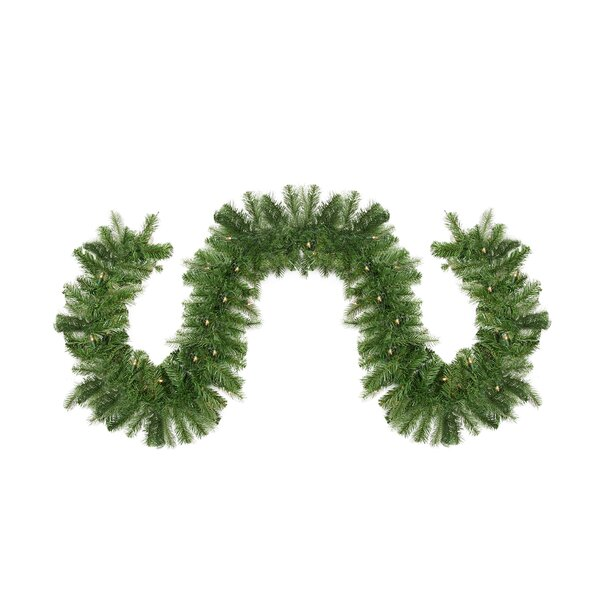 Pre-Lit Noble Fir Artificial Christmas Garland by Northlight Seasonal