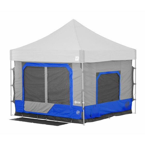 Camping Cube 6 Person Tent with Carry Bag by E-Z UP
