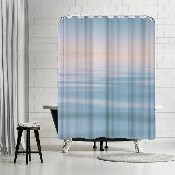 Lebens Art Meer Shower Curtain by East Urban Home