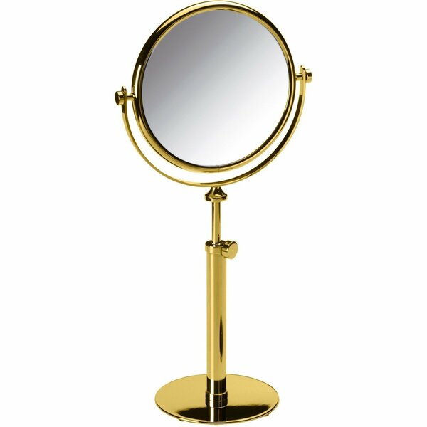 Lampert Double-Sided Makeup/Shaving Mirror by Everly Quinn