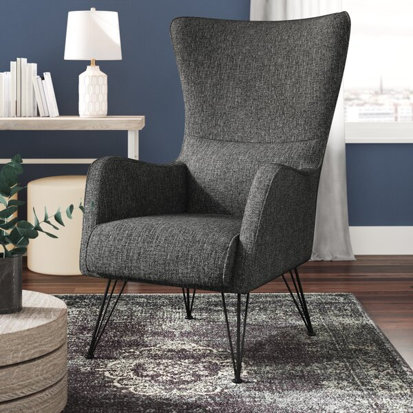 Bibb Wingback Chair by Wrought Studio