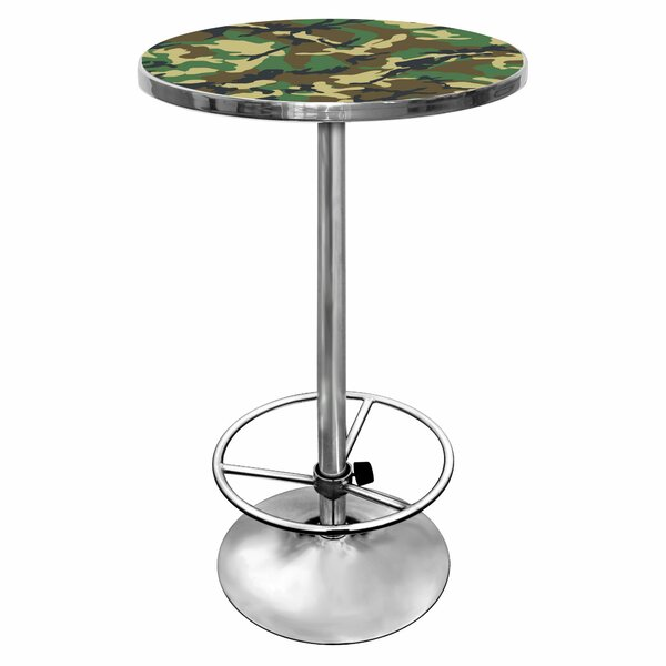 Hunt Camo Pub Table by Trademark Global